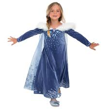 frozen costumes elsa deluxe costume for kids olaf s frozen adventure shopdisney