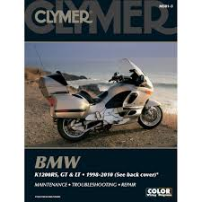 bmw k1200rs k1200gt u0026 k1200lt 1998 2010 clymer repair manual