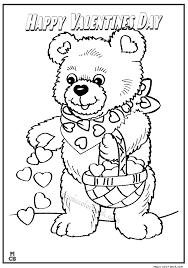 happy valentines coloring pages 10