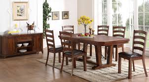 Walnut Dining Room Chairs Hollyhock Distressed White Dining Room Set From Homelegance 5123