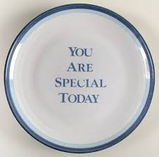 you are special today plate pfaltzgraff sky at replacements ltd page 1