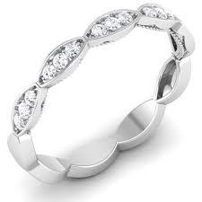 designer rings images designer half eternity platinum ring with diamonds jl pt 442