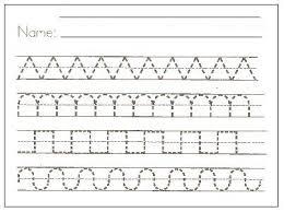 handwriting practice worksheets for kindergarten worksheets