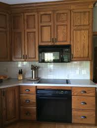 stain colors for oak kitchen cabinets how to make an oak kitchen cool again copper corners