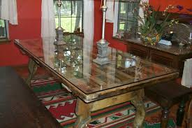 glass top to protect wood table glass table cover repairing