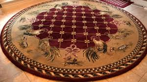 stunning rooster rugs for the kitchen barnyard round rounding and