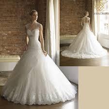 low waist wedding dress princess gown wedding dress rhinestone beaded low