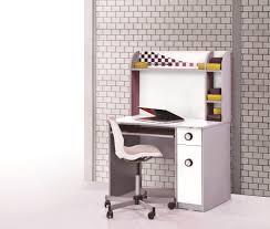 Schreibtisch Mit Aufsatz Set Autobett Police Weiß 4 Teilig