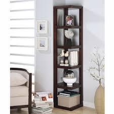 Modern Bookcase Furniture Modern Living Room Design Ideas With Corner Bookshelf Good