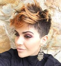 copper and brown sort hair styles 30 short ombre hair options for your cropped locks in 2018