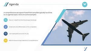 clean airplane premium powerpoint template u2013 slidestore