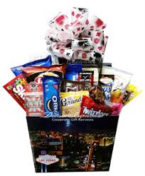 las vegas gift baskets snack gift baskets distinct impressions
