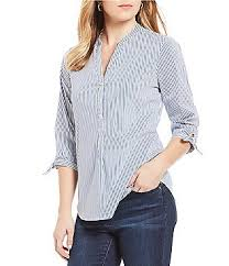 womens cotton blouses ivanka s casual dressy tops blouses dillards