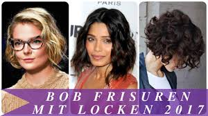 Kurzhaarfrisuren Mit Locken by Bob Frisuren Mit Locken 2017