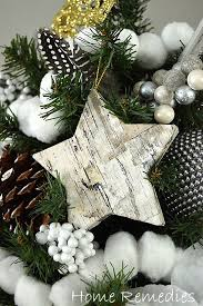 How To Make Christmas Decorations At Home Easy How To Make Birch Bark Ornaments The Easy Way