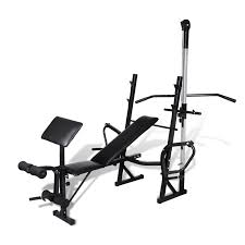 Home Gym Weight Bench Fitness Workout Bench For Home Gym Vidaxl Com