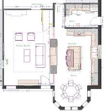 kitchen wonderful kitchen floor plans with island roomsketcher
