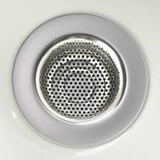 Stainless Steel Sink Strainer The Container Store - Stainless steel kitchen sink strainer