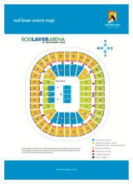 Rod Laver Floor Plan Seating Maps Open Tennis
