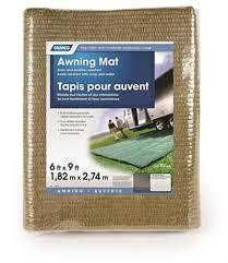 Rv Awning Mats 8 X 20 by Camco 42883 9 U0027 X 6 U0027 Reversible Rv Awning Mat Brown