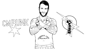 wwe coloring pages jeff hardy style coloringstar