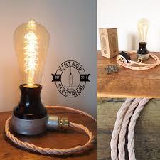 Table Lamp Brass Bulb Holder Vintage Electrical Ltd