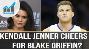 Blake Griffin Meme - kendall jenner cheers on rumored boyfriend blake griffin at a