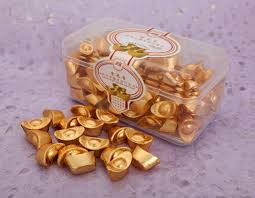 new year gold coins 85 gold ingot chocolates arts crafts new year new