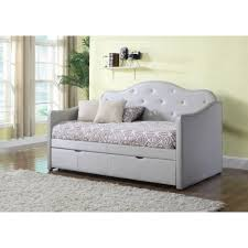 Upholstered Daybed With Trundle Daybeds U2013 Ideal Furniture And Home Furnishings