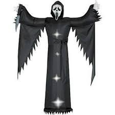 scream ghost 6 ft gemmy airblown