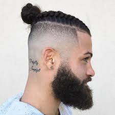 man bun short sides man bun hairstyles 2018