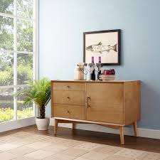 Crosley Bar Cabinet Crosley Newport Expandable Bar Cabinet With Furniture In Classic