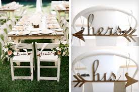 his and hers wedding chairs his and hers wedding chair details tatters