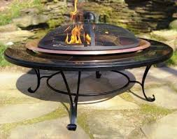 backyard creations 28 portable fire pit at menards in propane