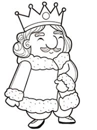 Coloriage rois et reines de France sur Hugolescargotcom