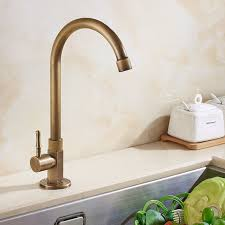 High Quality Kitchen Faucet Aliexpress Buy Antique Brass Only Cold Kitchen Faucet