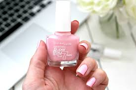 maybelline superstay 7 day gel nail colour pink in the park