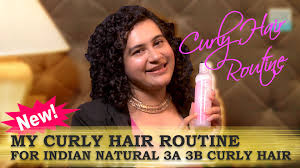 best haircut for curly frizzy hair indian curly hair routine best shampoo youtube