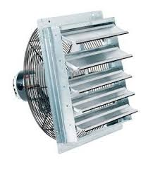 amazon com fantech 2she0721 axial wall shutter fan direct drive