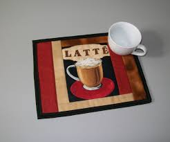 red office desk accessories coffee mug rug latte red brown cream black gold coffee cup