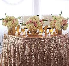 mr mrs sign for wedding table amazon com gold mr mrs letters wedding table decoration