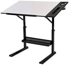Martin Drafting Table Martin Alyssia Craft Table With Top And Tray 23 5 By