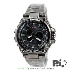 Jam Tangan G Shock jual g shock rantai mt gs1000bd 1 black kw murah