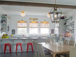 milk glass kitchen lighting this newly built beach house gets a dose of cottage charm with a