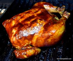 barbequed chicken bourbon bacon glaze date night doins bbq for two