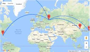 moscow map world turkish airlines sale moscow to the usa east asia from only 241