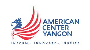 Flag Of Burma American Center Logo With Slogan U S Embassy In Burma