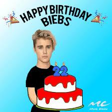Justin Bieber Birthday Meme - happy birthday justin bieber gifs get the best gif on giphy