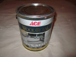 ace wood royal solid color latex deck stain review house