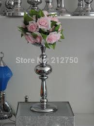 Silver Wedding Centerpieces by New Arrival Silver Wedding Centerpieces For Table Candle Holders